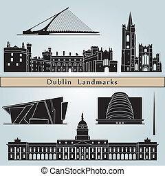 Señales y monumentos de Dublín
