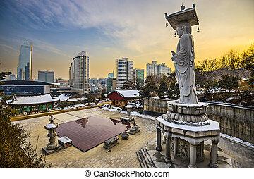 Seúl al sur de Corea