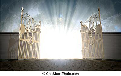 Se abren las puertas del cielo