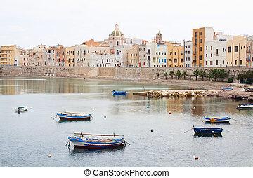 seafront, sicilia