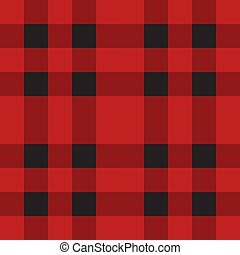 seamless, escocés, a cuadros, vector, patrón, tartán, tartán