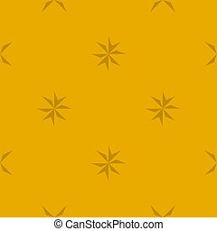 seamless, fondo., agudo, oscuridad, resumen, estrellas, patrón geométrico, amarillo, edges.