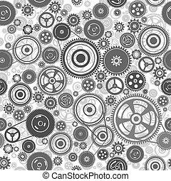 seamless, mecanismo, gearwheel