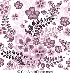 seamless, patrón, rosa