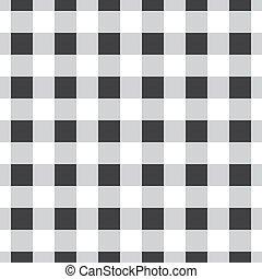 seamless, vector, tartán, patrón, a cuadros