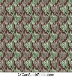 seamless, vector, textured, cerceta, resumen, galón, marrón, patrón