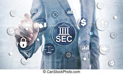 sec., comité, independiente, unido, seguridad, agencia, government., estados, federal, intercambio