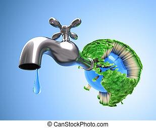 Secando el planeta Tierra