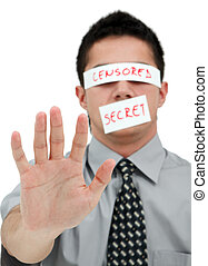 secreto, censurado