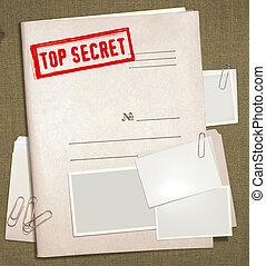 secreto superior, carpeta
