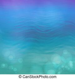 Sector vector azul fondo de agua azul