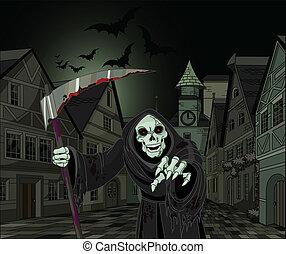 segadora, halloween, severo