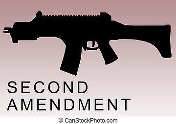 segundo, concepto, enmienda