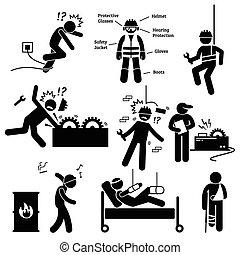 Seguridad ocupacional y trabajo de salud