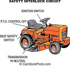 Seguridad tractor