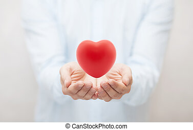 Seguro de salud o concepto de amor