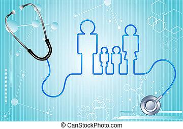 seguro médico, familia