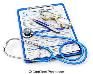 Seguro médico y concepto de salud
