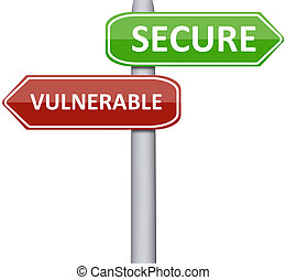 seguro, vulnerable