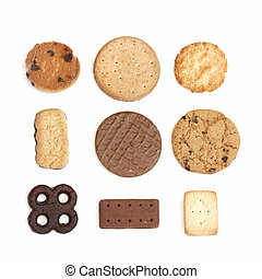 selección, galletas