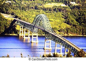 Sellar el puente de la isla