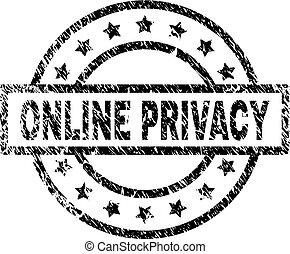Sello de sello de sello de sello de PRIVACY borrado