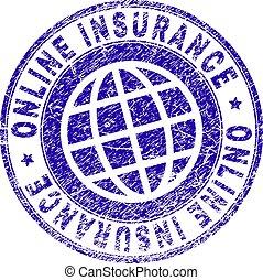 Sello de sello de sellos de seguridad del Grunge
