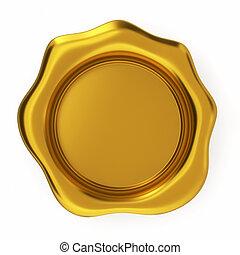 Sello dorado