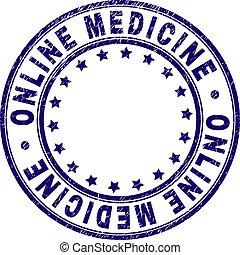Sello redondo de sello de sello de sello de sellos online