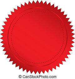 Sello rojo