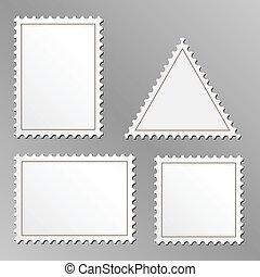 sellos, blanco