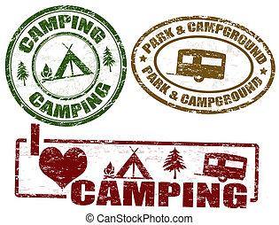 sellos, campamento