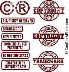 sellos, copyright/trademark