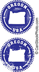 sellos, oregón, estados unidos de américa