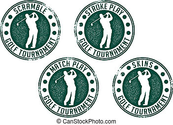 sellos, torneo, golf