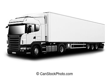 Semi camión