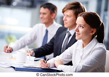 seminario del negocio
