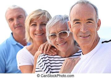 seniors, grupo