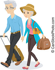 seniors, viaje