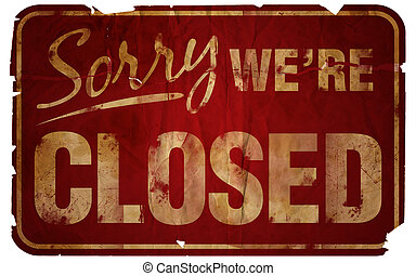 Sentimos haber cerrado