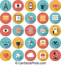 SEO y los iconos de la red