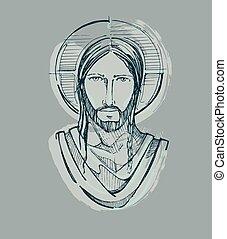 sereno, jesús, d, cara