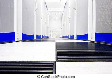 serie, centro de datos