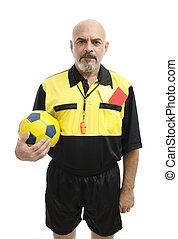serio, árbitro