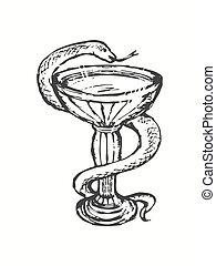 Serpiente médica
