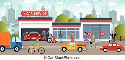 servicio coche