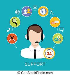 Servicio de apoyo al cliente