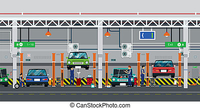 Servicio de autos