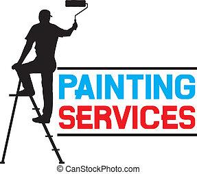 servicios, pintura, diseño