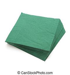 servilletas, verde